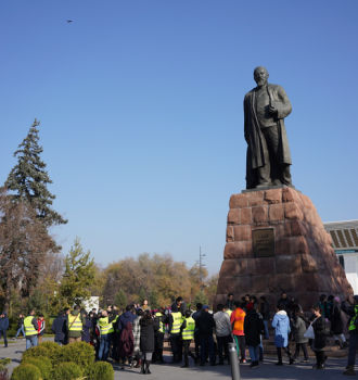 November 9 Rally in Almaty